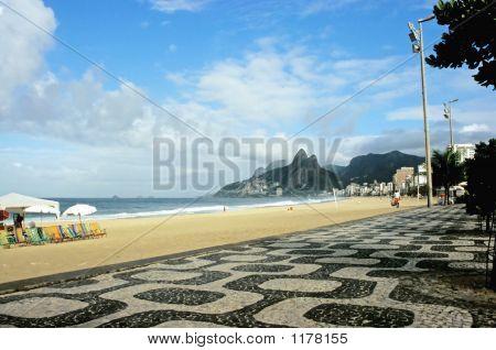 Ipanema Boardwalk, Rio De Janeiro, Brazil