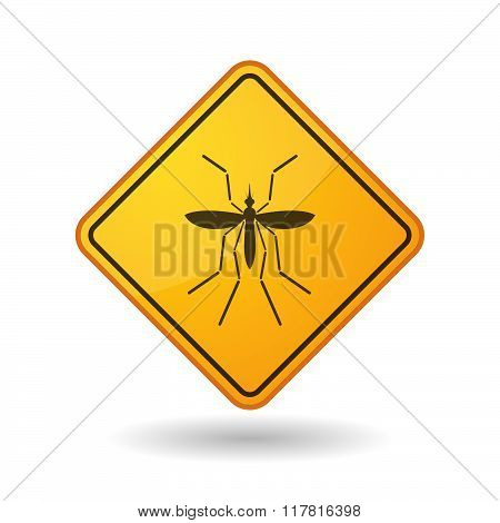 Zika Virus Bearer Mosquito  In A Warning Sign