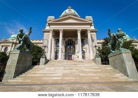 National Assembly, Belgrade, Serbia