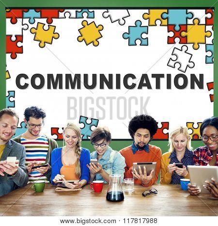 Communication Connect Conversation Interaction Concept