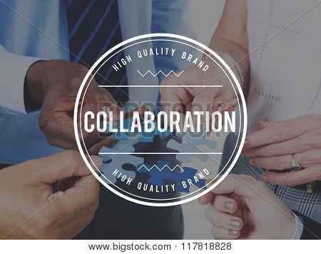 Collaboration Partnership Team Teamwork Unity Concept