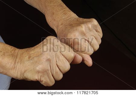 Old Woman's Hands