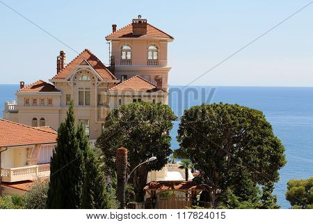 Beautiful Seascape With Villa