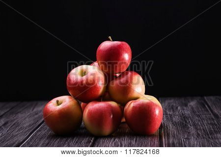 Group Of Appetizing Apples