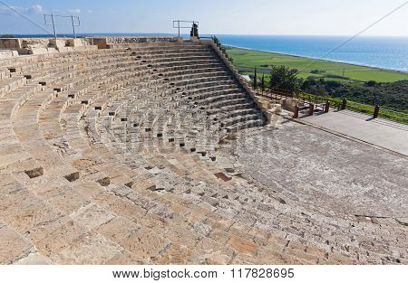 Ancient Greco-roman Theatre In Kourion, Cyprus