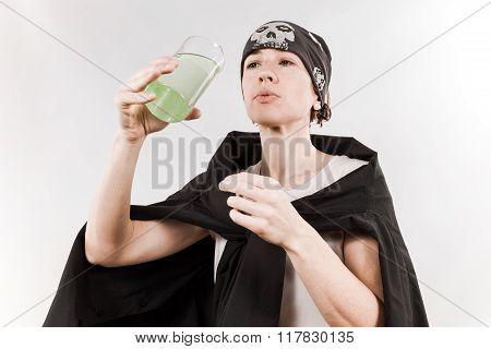 Person Wearing Bandana