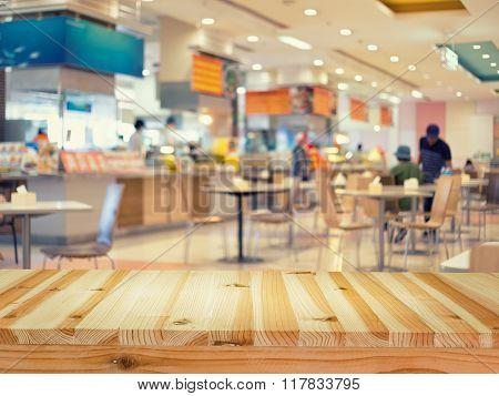 Food Court Blur