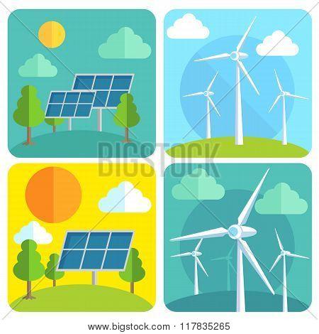 Eco Power illustration