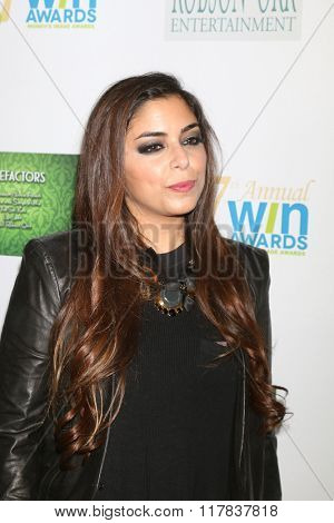 LOS ANGELES - FEB 10:  Xriss Jor at the 17th Annual Women's Image Awards at the Royce Hall on February 10, 2016 in Westwood, CA