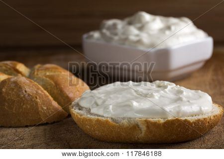 Cream Cheese And Bread