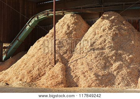 Piles Of Sawdust
