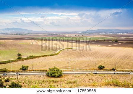 Jezreel Valley - Place Of Many Historic Events, Israel.