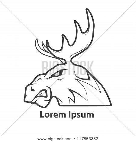 Moose Head Profile