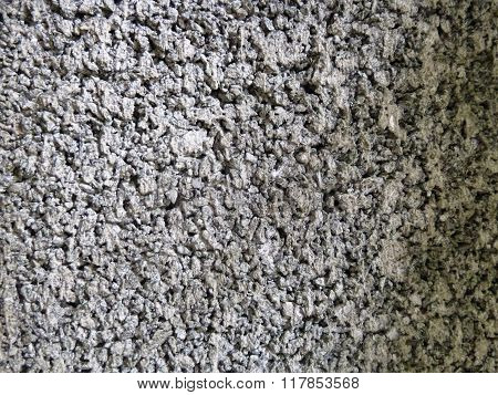 Gray of raw concrete wall