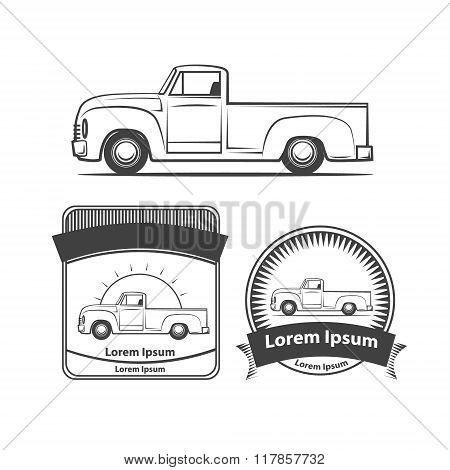 Pick Up Logo Elements