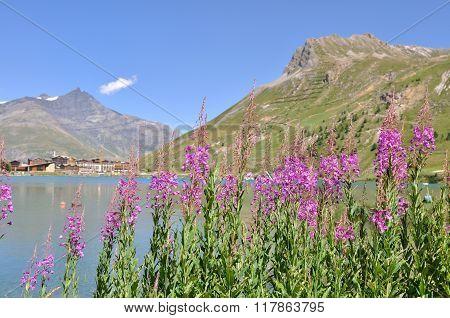 Lake Of Tignes- Alpes