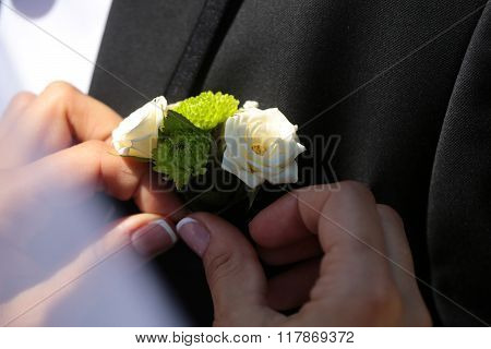 Wedding Amazing Boutonniere