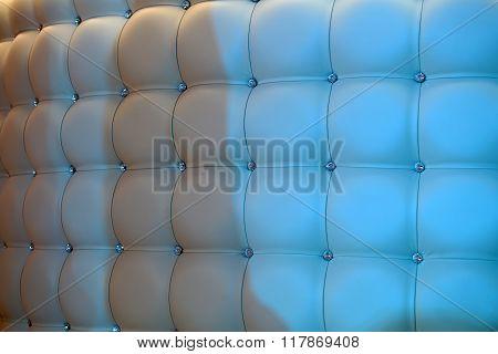 Splendid Beige Leather Upholstery