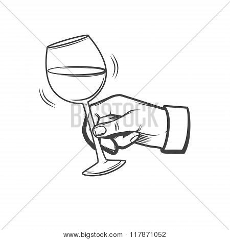 Wineglass Hand Hold