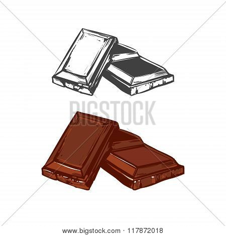 chocolate image color