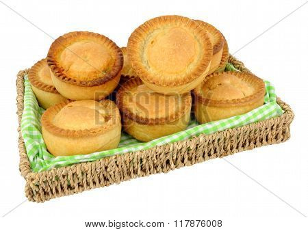Tray Of Freshly Baked Meat Pies