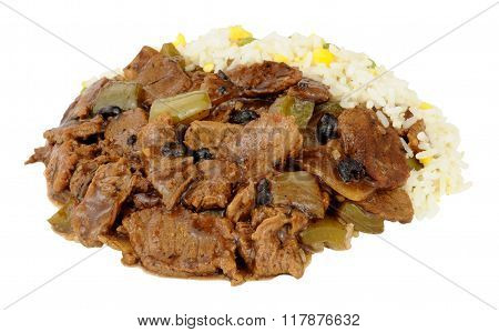 Chinese Beef In Black Bean Sauce