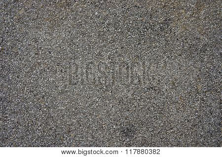 Old asphalt road surface structure coarse fraction