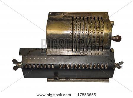 Adding Machine Early 20Th Century