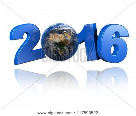 Africa Centered Earth View 2016 Design