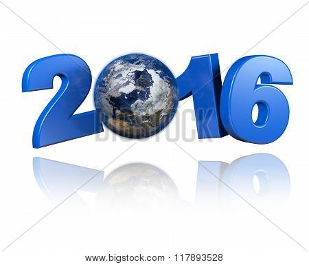 Arctic Centered Earth View 2016 Design