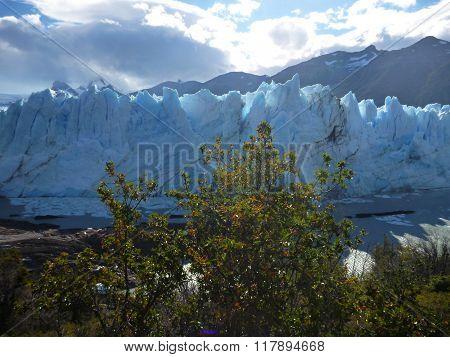 Amazing Glacier Perito Moreno In Argentinian Patagonia