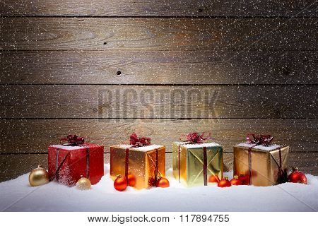 Collection Of Christmas Gifts