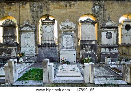 Verano Cemetery In Rome