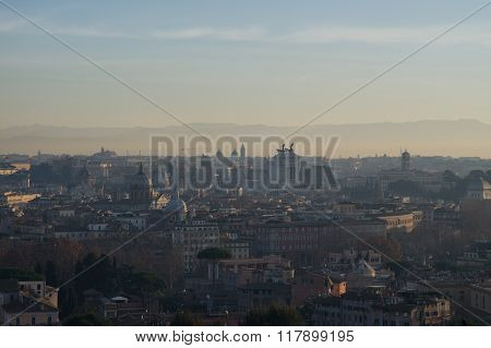 Rome Morning Overview