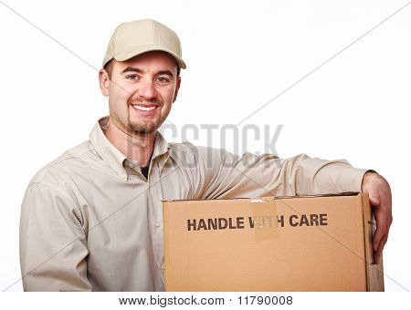 Friendly Delivery Man