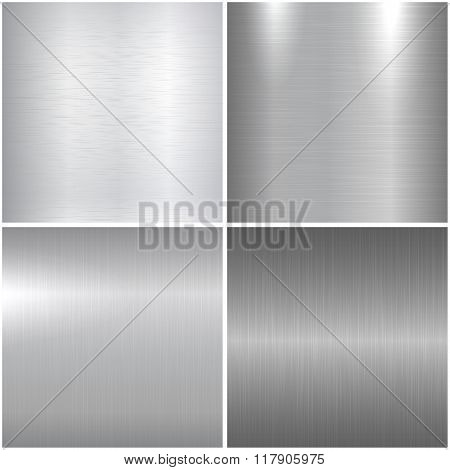 Metallic textures.