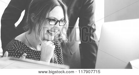 Businesswomen Career Occupation Professional Concept