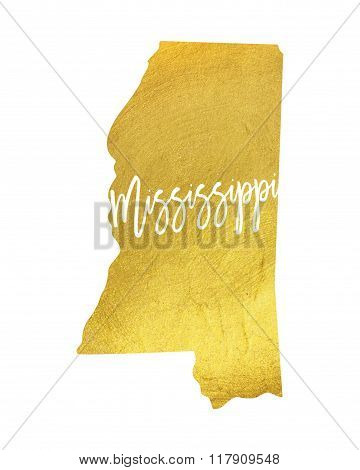 Mississippi Gold Shining Paint