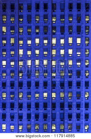Windows On A Hight Office Building