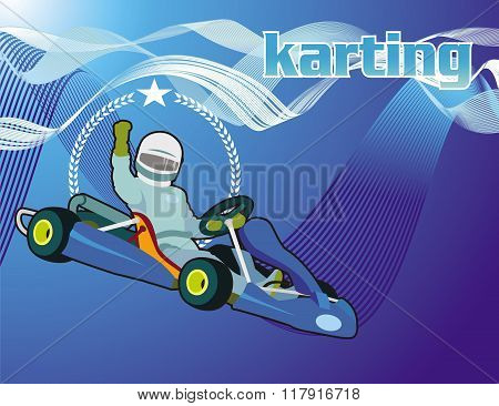 karting background