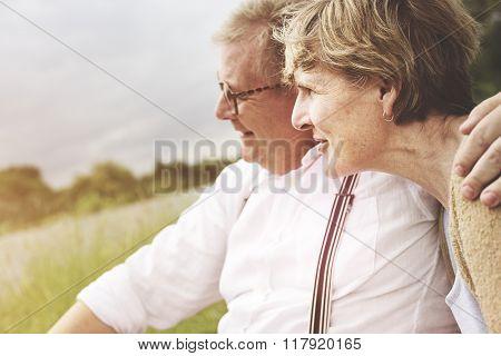 Bonding Couple Leisure Love Romance Relaxation Concept