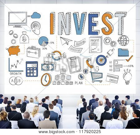 Invest Investment Finance Banking Revenue Concept