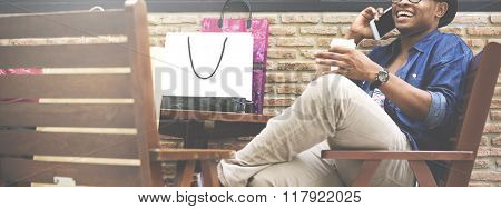 Casual Consumer Customer Shopping Commerce Concept
