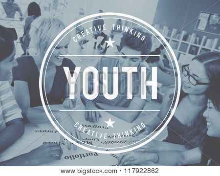Youth Culture Young Adult Generation Lifestyle Concept