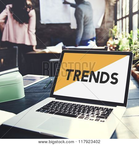 Brand Marketing Trends New Modern Concept