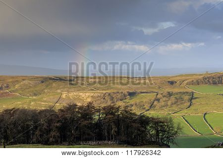 Rainbow In The Yorkshire Dales