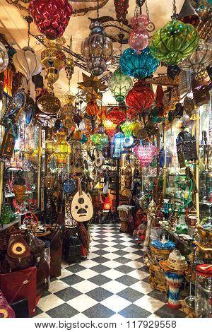 Tunisia Traditional Store