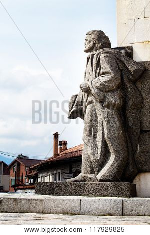 Paisiy Hilendarski Monument in Bansko