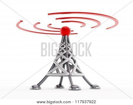 Wireless Communication Tower