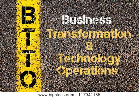 Business Acronym Btto